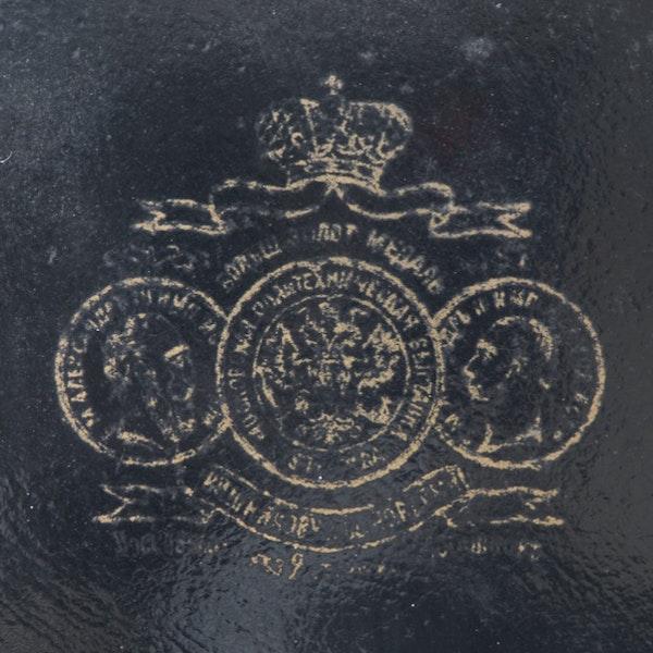 Date: circa 1880, Russian Lacquer Plate by Vichniakov, SHAPIRO & Co since 1979 - image 3
