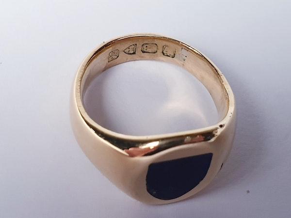 Lapis lazuli signet ring  DBGEMS - image 4