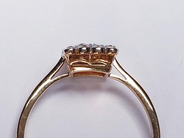 Edwardian Ruby and Diamond Panel Ring  DBGEMS - image 5