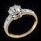 MM6506r Edwardian 1.04ct yellow gold platinum diamond single stone ring - image 2