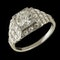 MM6505 Fine quality Art Deco  diamond ring 1920c - image 2