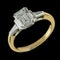 MM6503r Baguette diamond 1.43ct fine quality F/g ring yellow gold platinum - image 2