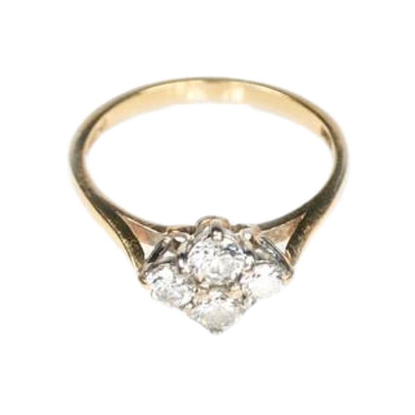 A Four Diamond Ring - image 2
