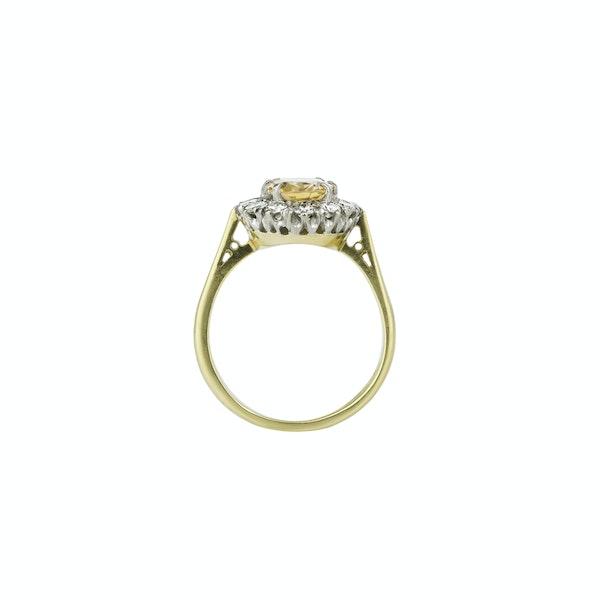 Topaz & Diamond Ring - image 2