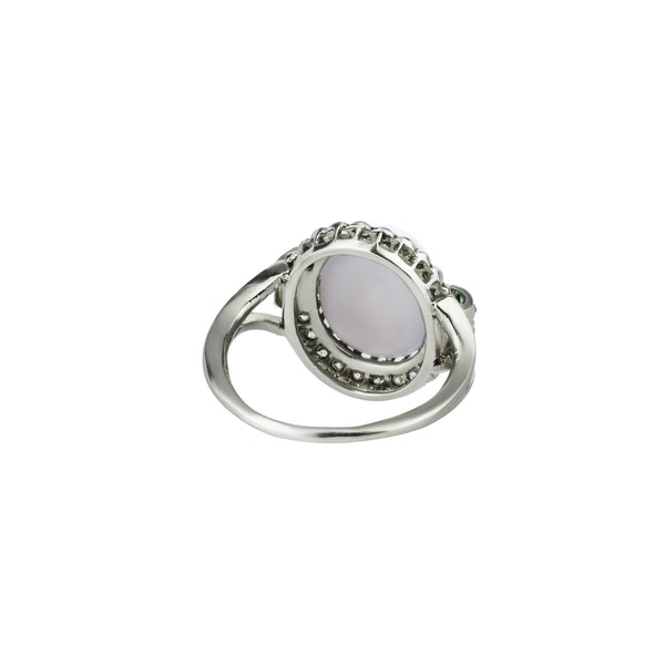 Cabochon Star Sapphire Ring - image 2