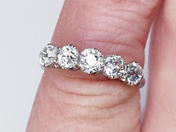 Five Stone Diamond Ring  DBGEMS - image 4