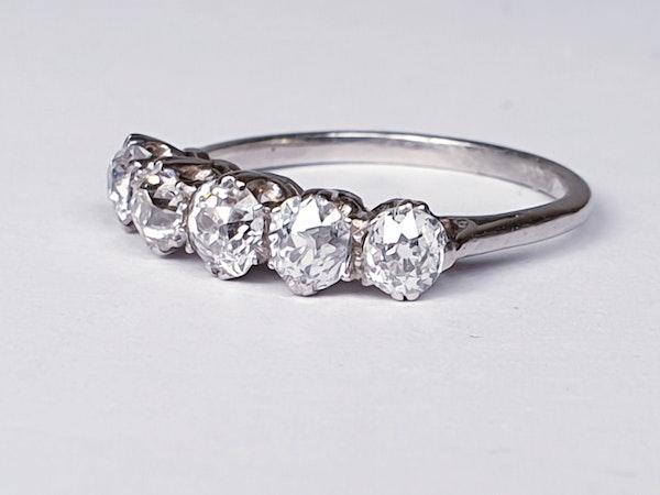 Five Stone Diamond Ring  DBGEMS - image 3