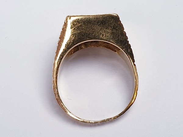 1960's cool 18ct and diamond ring  DBGEMS - image 6