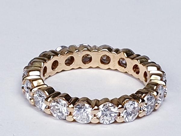 French Full Hoop Diamond Eternity Ring  DBGEMS - image 2