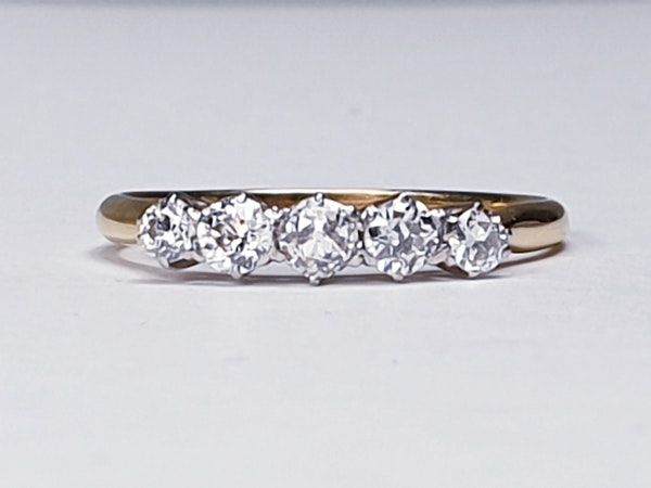 Five Stone Diamond Ring  DBGEMS - image 2
