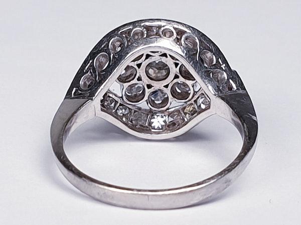 Cool 1930's Diamond Engagement Ring  DBGEMS - image 4