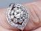 Cool 1930's Diamond Engagement Ring  DBGEMS - image 2
