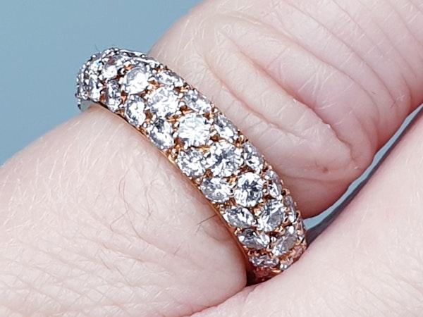 French Bombe Diamond Eternity Ring  DBGEMS - image 5