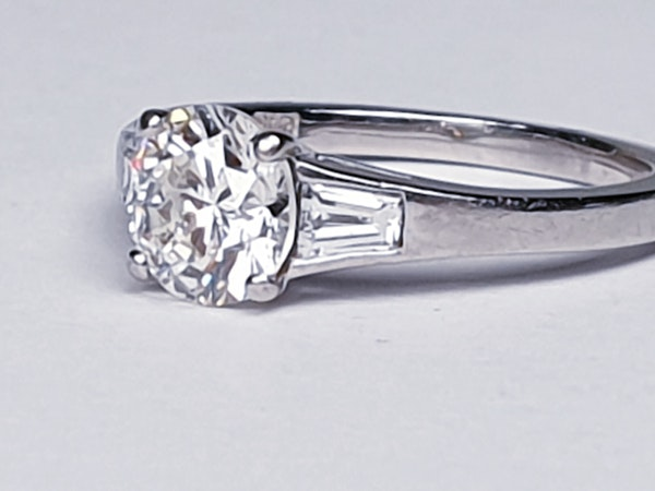Super diamond engagement ring  DBGEMS - image 6