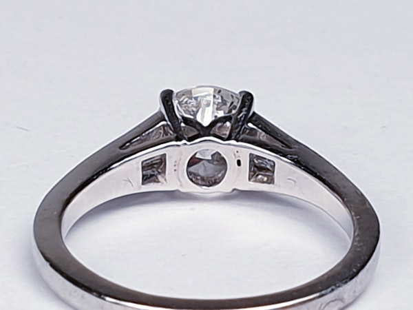 Super diamond engagement ring  DBGEMS - image 4