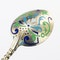 Russian Silver Gilt and Enamel Sherbet Cup, Underplate & Spoon, Khlebnikov, Moscow c.1900 - image 8