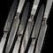 A boxed set of silver & desert forks & knives - image 3