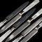 A boxed set of silver & desert forks & knives - image 2