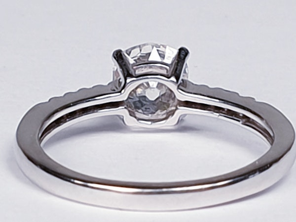 Cushion Cut Diamond Engagement Ring  DBGEMS - image 3
