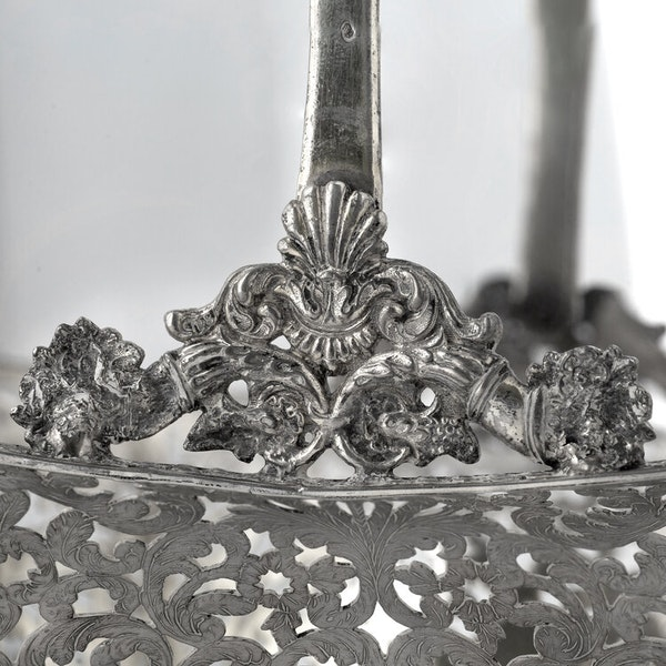 Russian Silver Gilt Fruit Basket, Moscow 1838 - image 5