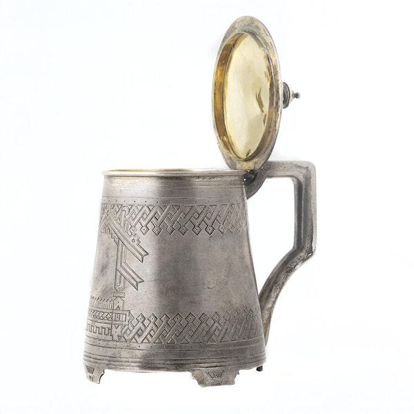 Russian Silver Tankard, Moscow 1880 - image 4