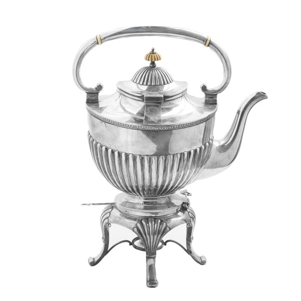 19th Century Russian Silver Kettle, Moscow c.1880, by Morozov - image 4