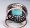 Antique 4.5ct Columbian Emerald and Diamond Ring  DBGEMS - image 5