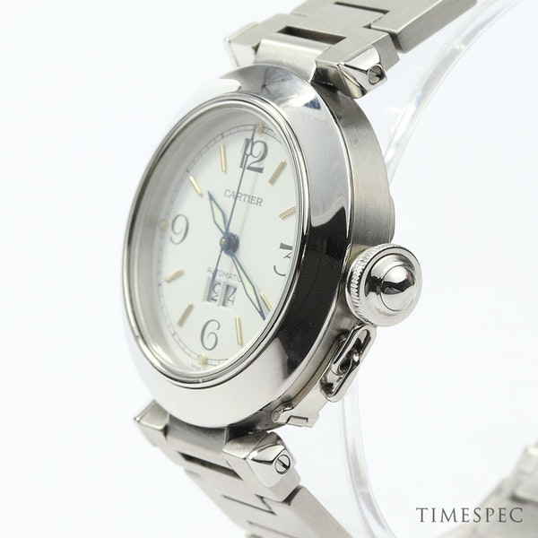Cartier Pasha C Gents/ Unisex 35mm Automatic Stainless Steel - image 5