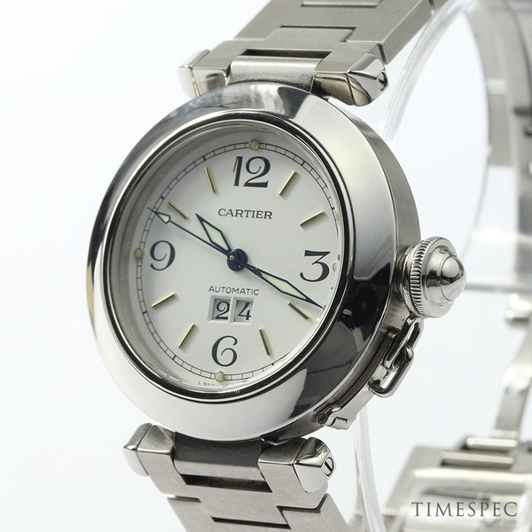 Cartier Pasha C Gents/ Unisex 35mm Automatic Stainless Steel - image 4