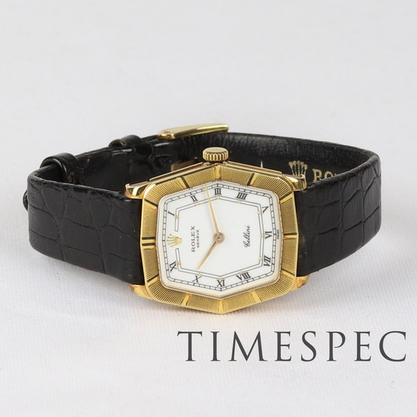 Rolex Cellini, 24mm, 18ct Yellow Gold, Manual Wind, Ladies - image 3