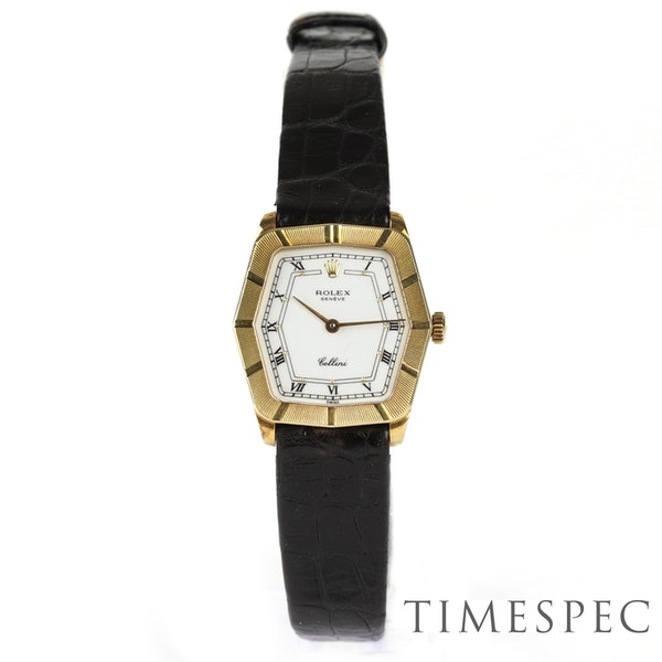 Rolex Cellini, 24mm, 18ct Yellow Gold, Manual Wind, Ladies - image 5