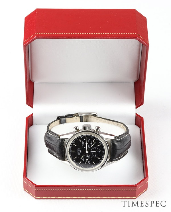 TAG Heuer Carrera Chronograph Classic Re-Edition - image 6