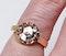 Rose Diamond Single Stone Diamond Engagement Ring DBGEMS - image 2