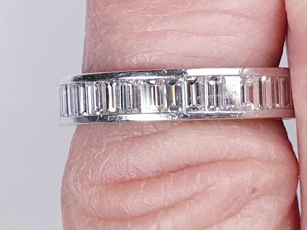 baguette diamond eternity ring  DBGEMS - image 2