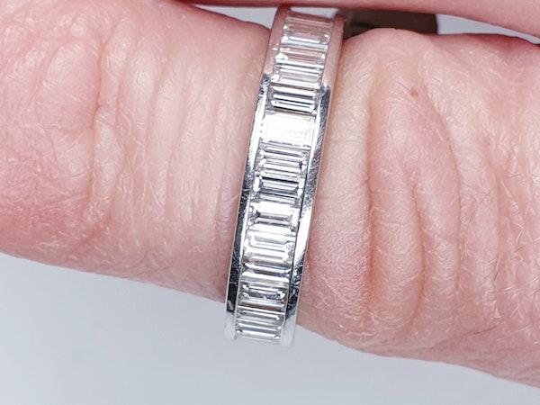 baguette diamond eternity ring  DBGEMS - image 4