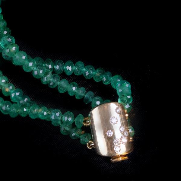 Emerald necklace - image 2