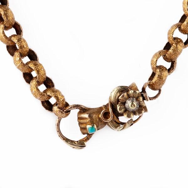 Georgian fine gold chain - image 2