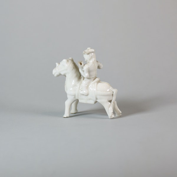 Chinese miniature blanc de chine figure - image 2