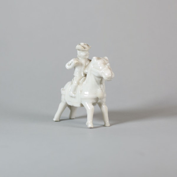 Chinese miniature blanc de chine figure - image 5
