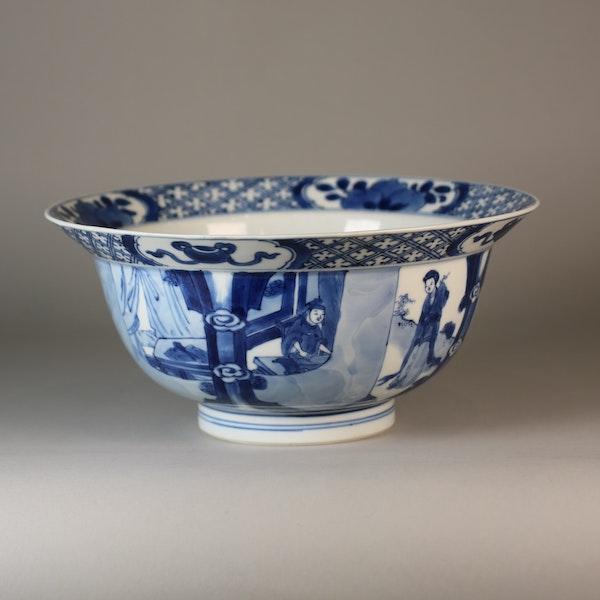 Chinese blue and white klapmutz bowl - image 4