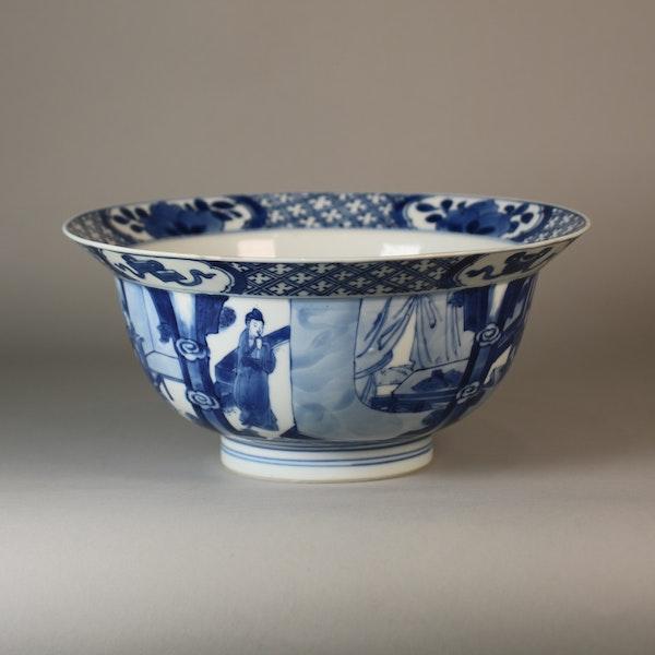 Chinese blue and white klapmutz bowl - image 7