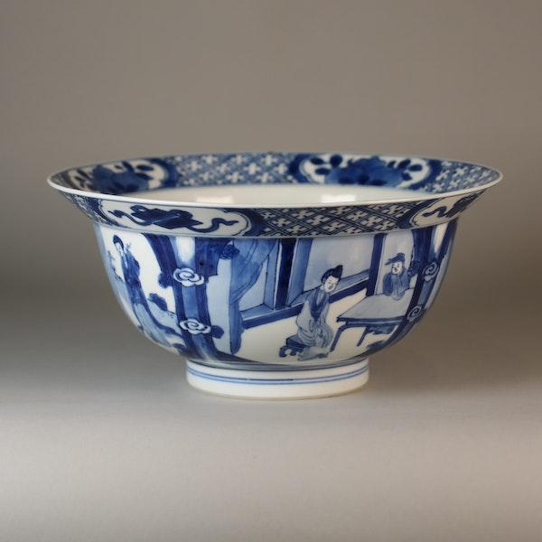 Chinese blue and white klapmutz bowl - image 6
