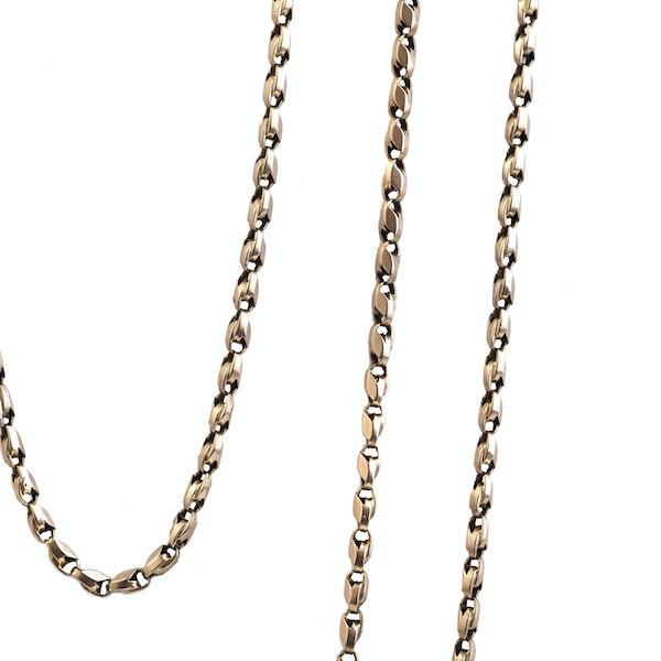 Victorian Longguard chain. Spectrum Antiques - image 2