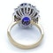 18K yellow/white gold 9.31ct Natural Blue Sapphire and 1.63ct Diamond Ring - image 7