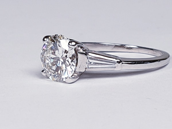 1.74ct Diamond Solitaire Ring  DBGEMS - image 5