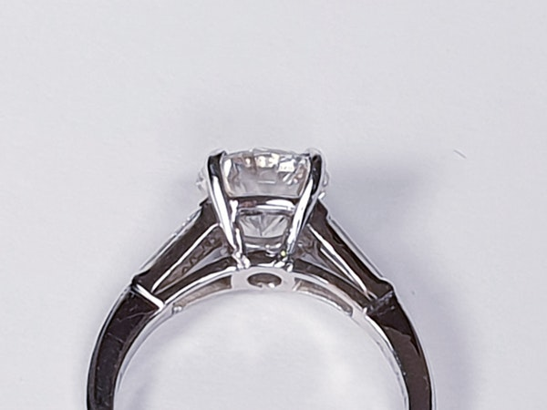 1.74ct Diamond Solitaire Ring  DBGEMS - image 2