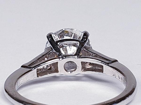 1.74ct Diamond Solitaire Ring  DBGEMS - image 4