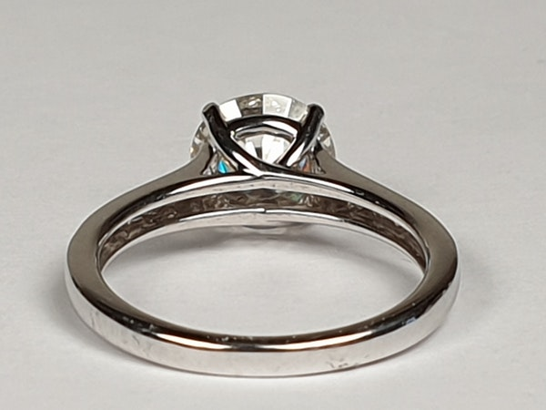1.85ct solitaire engagement ring  DBGEMS - image 6