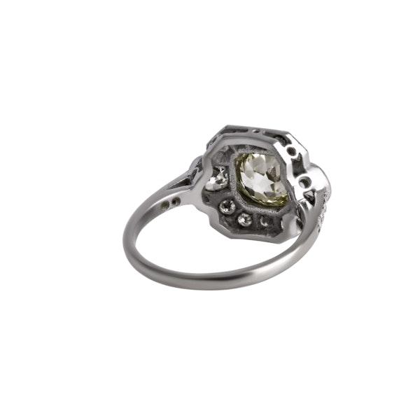 Deco Diamond Ring - image 2