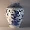 Japanese Arita blue and white vase, circa 1680 - image 3